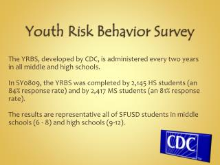 Youth Risk Behavior Survey