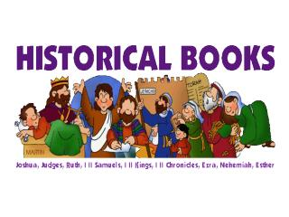 Historical Books Overview