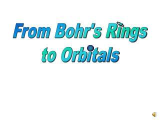 From Bohr's Rings to Orbitals