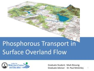 Phosphorous Transport in Surface Overland  Flow