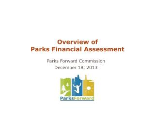 Parks Forward Commission December 18, 2013