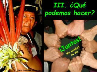 Davi Kopenawe Yanomami
