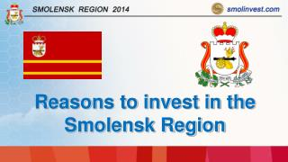 Reasons to invest in the Smolensk Region