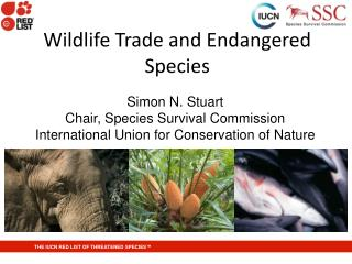 Wildlife Trade and Endangered Species