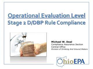 Operational Evaluation Level  Stage 2 D/DBP  Rule Compliance