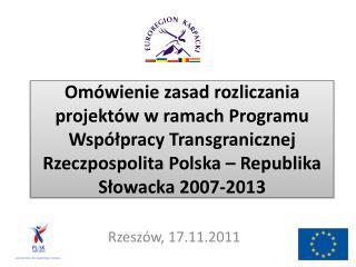 Rzesz�w, 17.11.2011