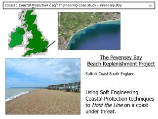 The Pevensey Bay  Beach Replenishment Project Suffolk Coast South England