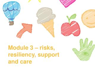 Module  3  –  risks, resiliency, support and care