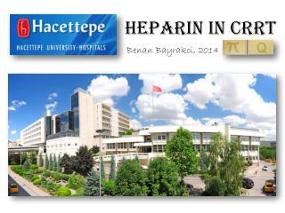 Heparin  in CRRT