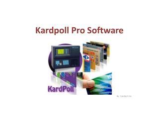 Kardpoll Pro Software