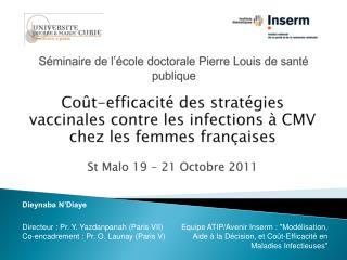 Séminaire de l'école doctorale Pierre Louis de santé publique