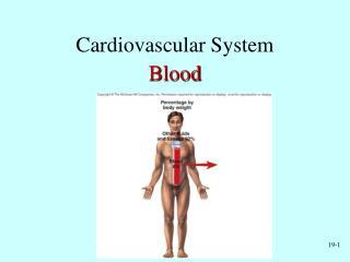 Cardiovascular System Blood