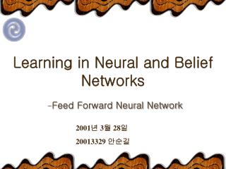 Learning in Neural and Belief Networks
