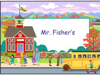 Mr.  Fisher's
