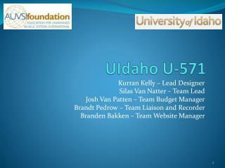 UIdaho  U-571