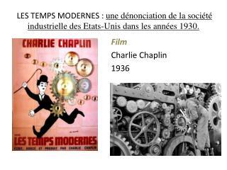 Film Charlie Chaplin 1936
