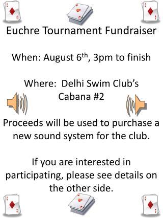 DSC Euchre Tournament