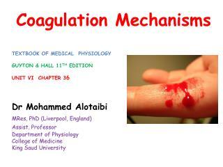 Coagulation Mechanisms