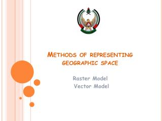 Methods of representing geographic space