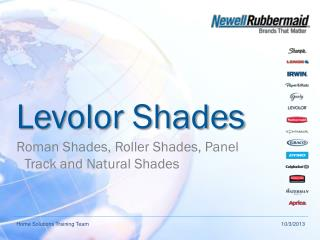 Levolor Shades