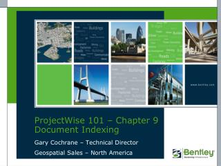 ProjectWise 101 – Chapter 9 Document Indexing
