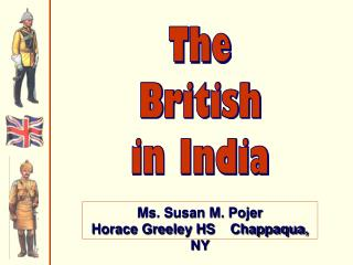 The British in India