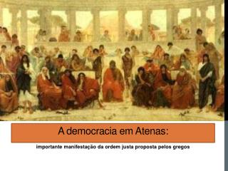 A democracia em Atenas: