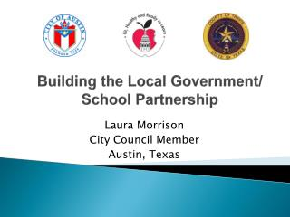 Building the Local Government/ School Partnership