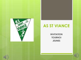 AS ST VIANCE