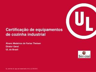 Certificação  de  equipamentos  de  cozinha  industrial
