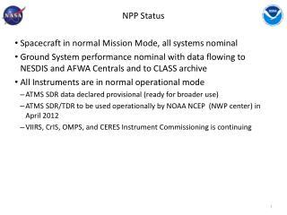 NPP Status