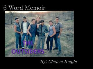 6 Word Memoir