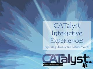 CATalyst  Interactive Experiences
