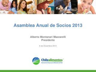 Asamblea Anual de Socios 2013