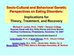 Socio-Cultural and Behavioral Genetic Perspectives on Eating ...