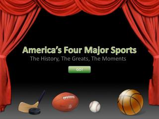 America's Four Major Sports