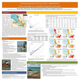 Conserving San Francisco Bay's  Waterbirds :  three  decades in a rapidly changing landscape