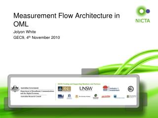 Measurement  Flow Architecture in OML