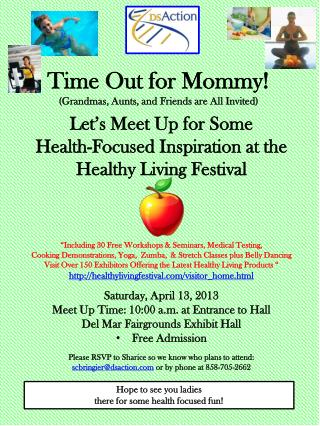 Time Out for Mommy! (Grandmas, Aunts, and Friends are All Invited)