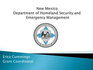 New Mexico  Department of Homeland Security and  Emergency Management
