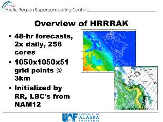 Overview of HRRRAK