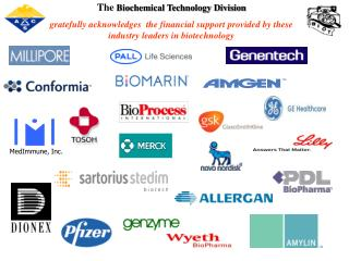 The  Biochemical Technology Division