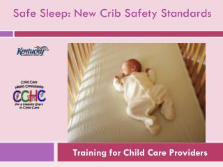 Training for Child Care Providers