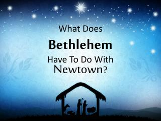 What Does Bethlehem