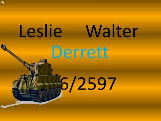 Leslie     Walter
