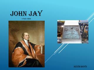 John Jay 1745-1829
