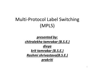 MPLS deployment
