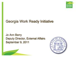 Georgia Work Ready Initiative