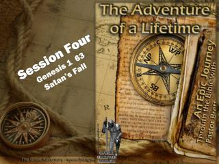 Session Four Genesis 1  63 Satan's Fall