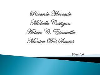 Ricardo Mercado Michelle Costigan Arturo C. Escamilla  Monica Dos Santos